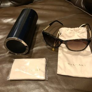 Bulgari Serpent frame sunglasses
